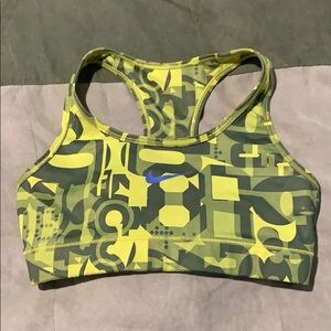 Nike Dri-Fit Sports Bra size small